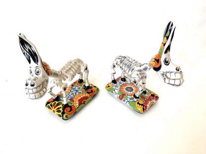 Burro esqueleto figurine