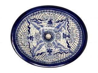 Azul Talavera sink