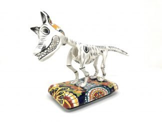 Perro esqueleto figurine