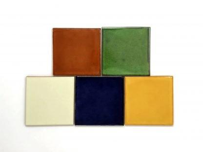 single color tiles