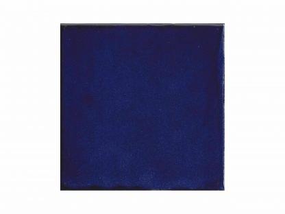 Azul sólido tile