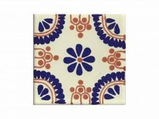 Madrid marrón-azul tile