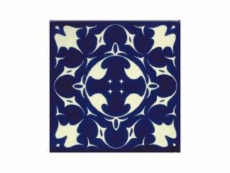 Murcielago azul tile