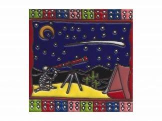 Cámping estrellas tile