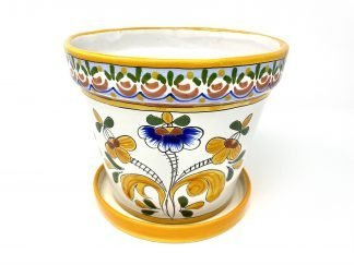 Maceta tradicional provenzal amarillo